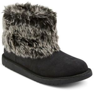 Women's mossimo Black melby Snow Boots